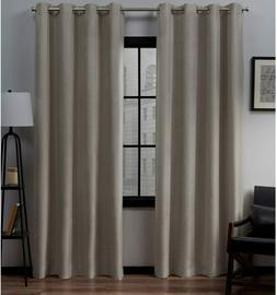"Exclusive Home 96""x54"" Loha Linen Pinch Pleat Window Curtai"