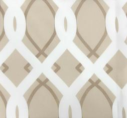 "Jordan 54 x 96"" Outdoor Curtain Panel in Cayo Linen w/ Stain"