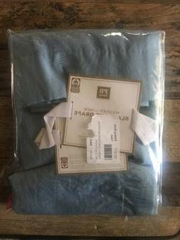 $79 Pottery Barn Teen Washed Linen Blackout Curtain Panel Li