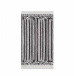 BEST DREAMCITY Faux Linen Blackout Curtains for French Door,