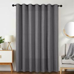 Blackout Curtains for Bedroom Linen Textured Window Curtain