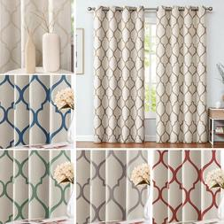 blackout curtains for bedroom moroccan tile linen