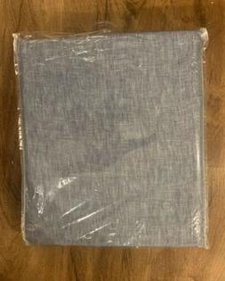 Pottery Barn Classic Belgian Flax Linen Rod Pocket Curtain C