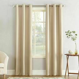 Window Curtain Panel Cooper Textured Thermal Insulated Gromm