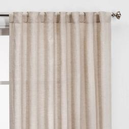 Curtain panel 108 x 54 54 x 84  light filtering rod pocket &