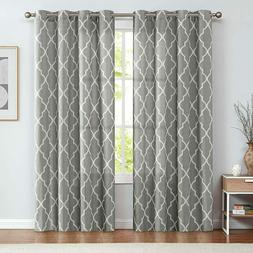 Curtains Taupe Linen for Living Room Drapes Light Filtering