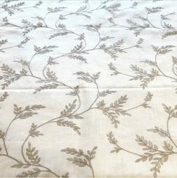 Embroidered Linen Fabric