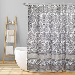 "Linen Store Fabric Canvas Shower Curtain, 70""x70"", Morgan, G"