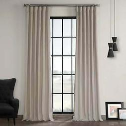 french linen lined curtain panel