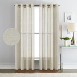H.VERSAILTEX 52 - Inch Width by 84 - Inch Length Natural Lin