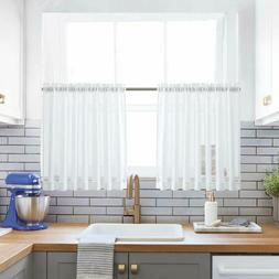 kitchen tiers curtains for bedroom linen textured