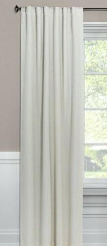 1 - Threshold Linen Aruba Light Blocking Curtain Panel 50x63