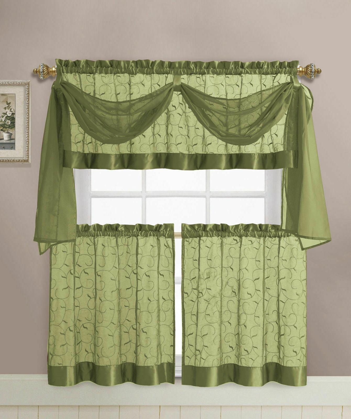 VCNY Home Embroidered Set