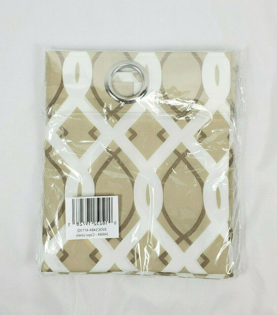 Jordan Grommet Repellant Outdoor Curtain Panel,