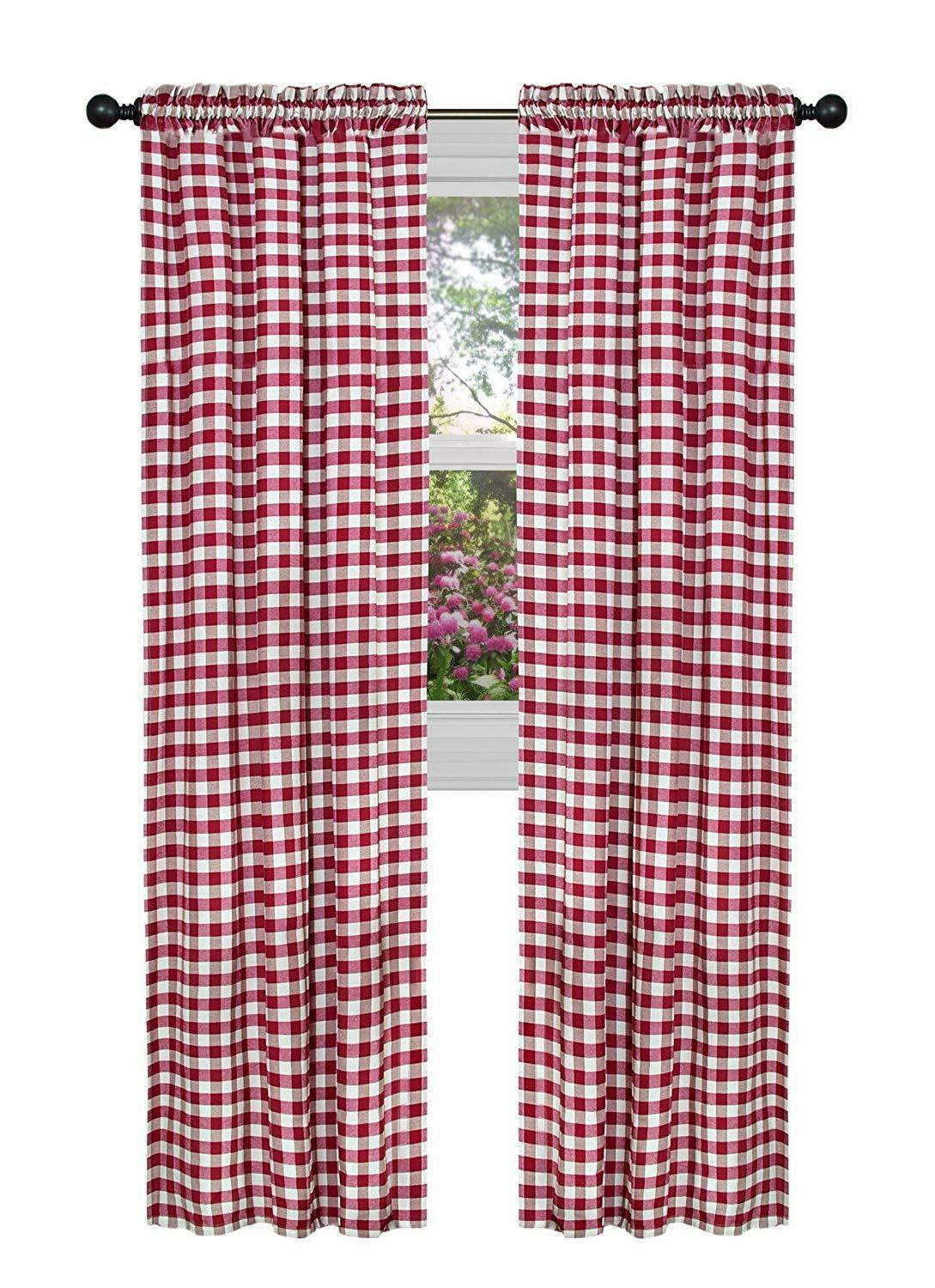 Country Basic Checkered Window Assorted Sizes