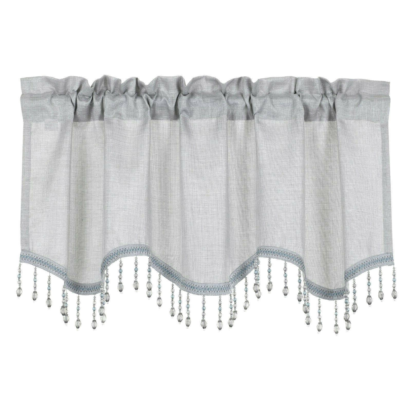 Kate Elegant Scalloped Valance - Assorted