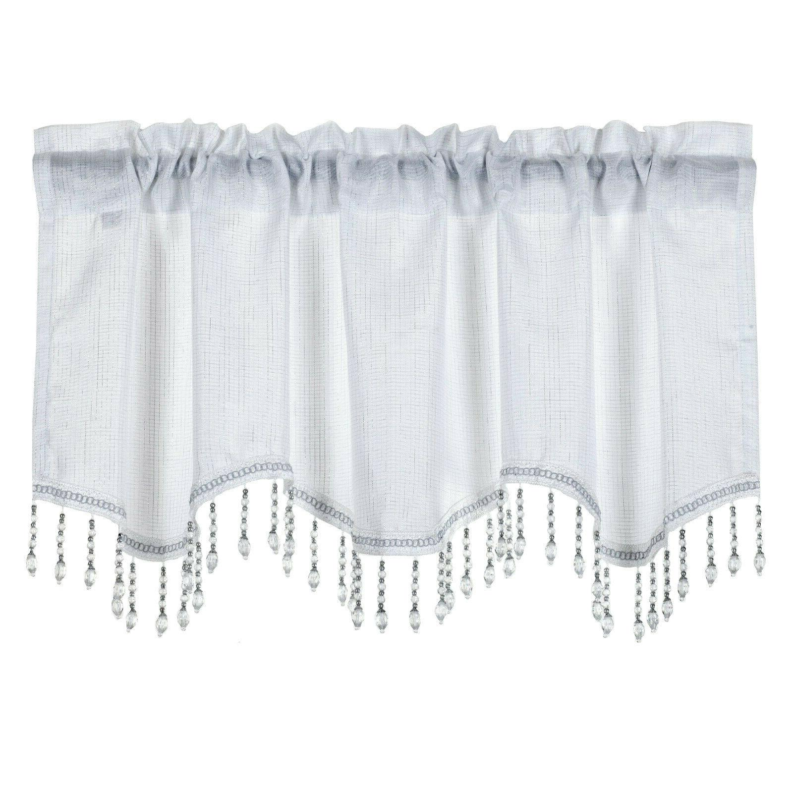 Kate Scalloped Window Valance -