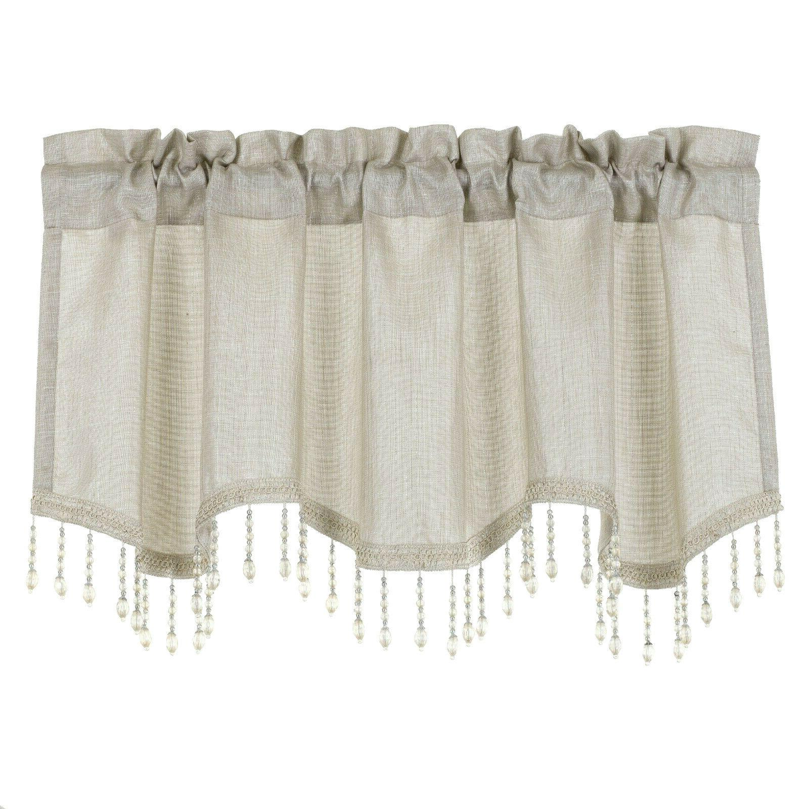 Kate Elegant Scalloped Window -