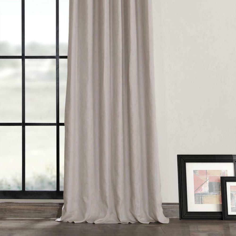 Exclusive Fabrics & Earl Grey French One Curtain 50 x 108