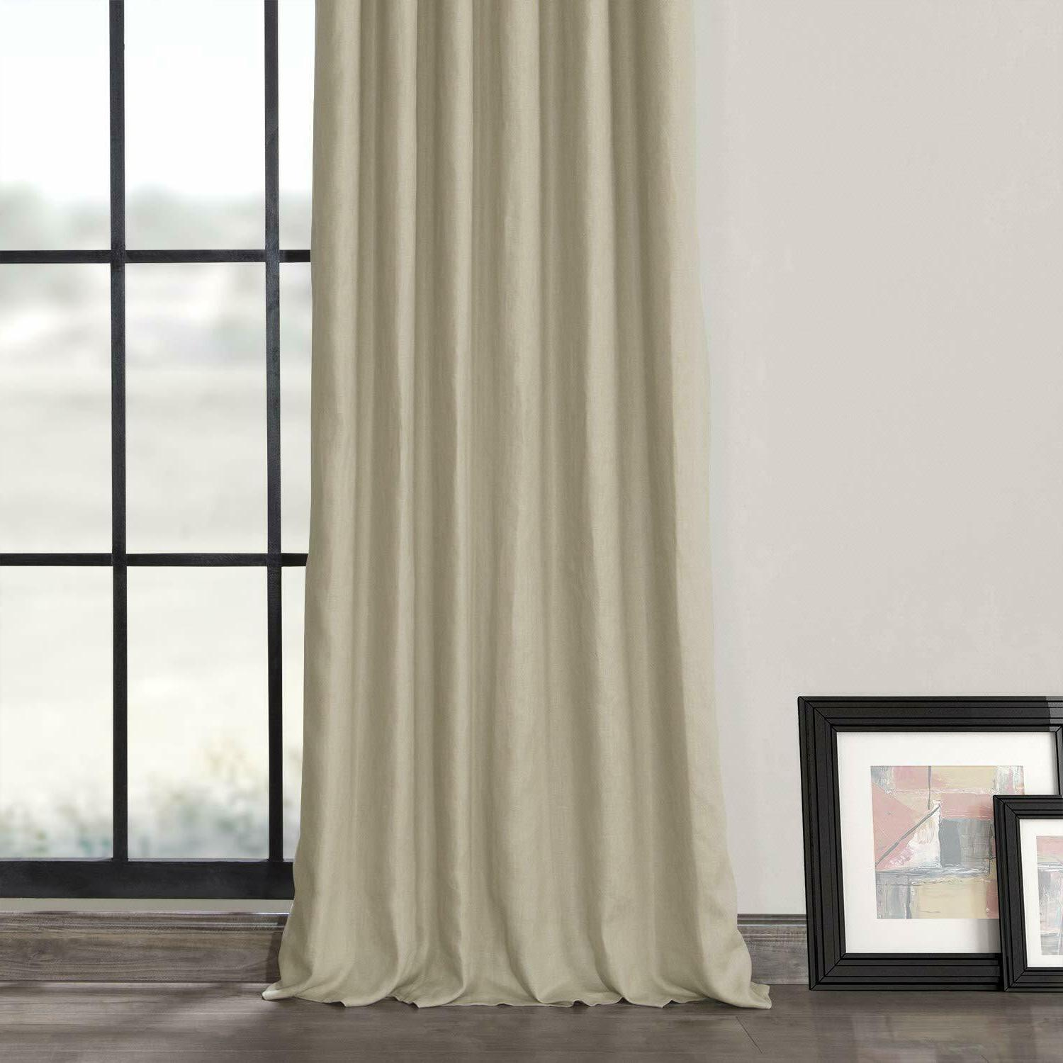 Exclusive French Linen Curtain LN-XS1701-84 Fresh