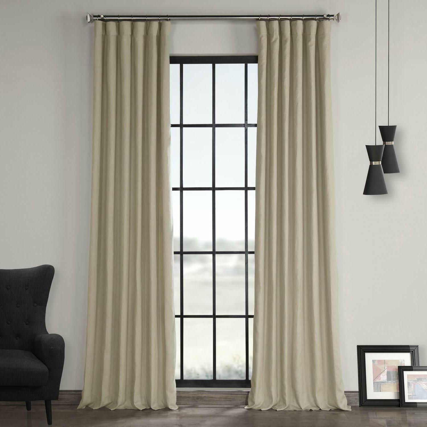exclusive fabrics and furnishings french linen curtain