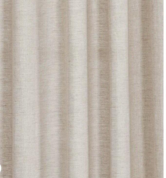 Threshold Linen Light Filtering Curtain Panel x 54 Out of