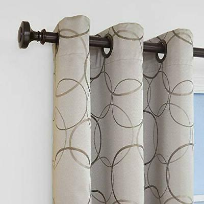 ECLIPSE Meridian Thermal Insulated Single Darkening Curtains
