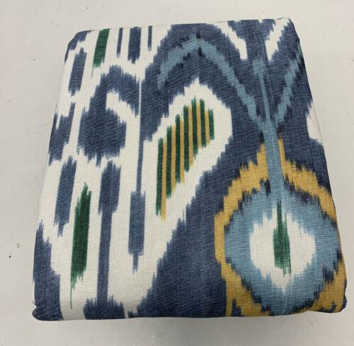 Pottery NEW IKAT Print Linen/Cotton Pole Top