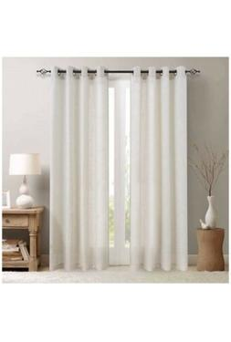 Linen Curtains for Living Room Kitchen Curtains Ring Top Win