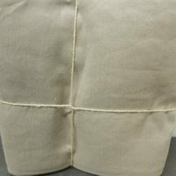 Pottery Barn LINEN SILK BLEND CURTAIN Drape 50x108 Taupe