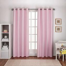 ATI Home Linen Thermal Woven Blackout Grommet Top Curtain