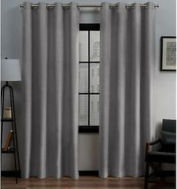 Exclusive Home Curtains Loha Linen Grommet Top Curtain Panel