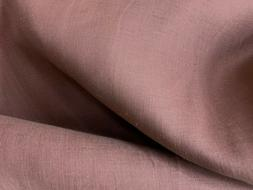 Mauve Colored 100% Linen Fabric  - Sold BTY