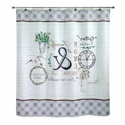 Avanti Linens Modern Farmhouse Shower Curtain