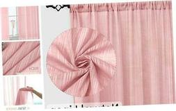 Naturoom Natural Linen Sheer Curtains for Bedroom/Living Roo