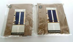 Rod Pocket Back Tab Panel Curtains Linen Color 42x84 JCPenne