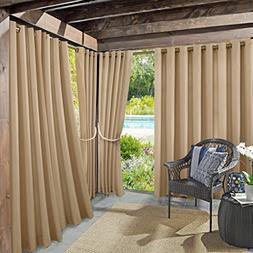 "Sun Zero Rutherford Solid Indoor/Outdoor Woven 52"" x 84"" Pan"