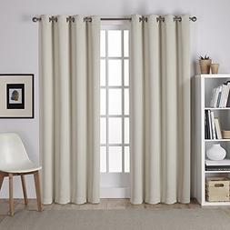 Exclusive Home Sateen Twill Weave Blackout Window Curtain Pa