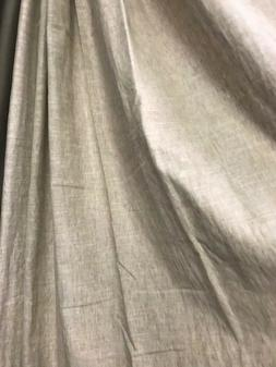 Pottery Barn Set 2 Emery Drape Oatmeal 50x108L Blackout Curt
