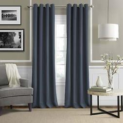 Strick & Bolton Krupa Grommet Linen Curtain Panel