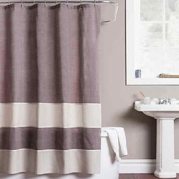 """Baltic Linen Structure Shower Curtains Extra Long 72 x 96"""" 1"""