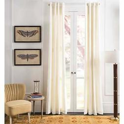 "Safavieh Vari Linen 84-inch Single Curtain Panel - 84"" L x W"